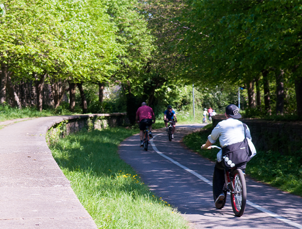 Bristol cycle path