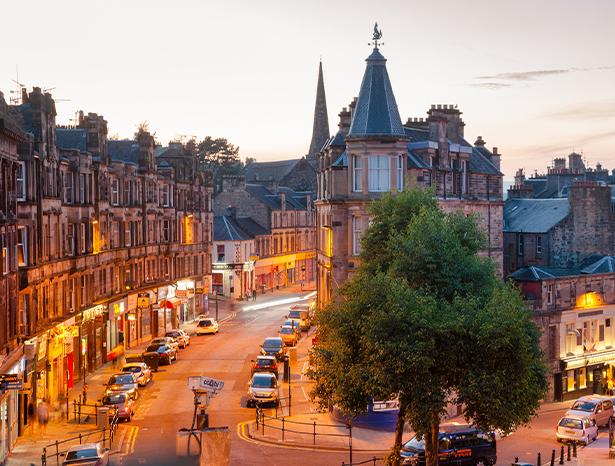 Street in Stirling