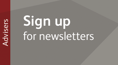 Sign up to the UCAS newsletter for help and advice