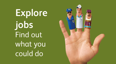 Explore our career profiles and find out what jobs you could do