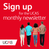 Sign up to the UCAS newsletter image