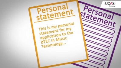 Ucas help with personal statement